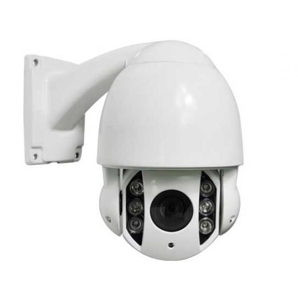 Telecamera IP Speed Dome PTZ Da esterno IR LED Array 2 Megapixel 1080P Motorizzata 10x Zoom Onvif