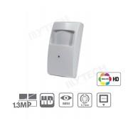 Telecamera Nascosta Videosorveglianza Alta Definizione AHD 2.7mm 1.3 Mp 1280X960P Mini / Nascosto