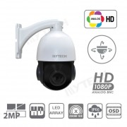 Telecamera Mini Speed Dome PTZ AHD 2MP, Led Array, 10X ottico zoom