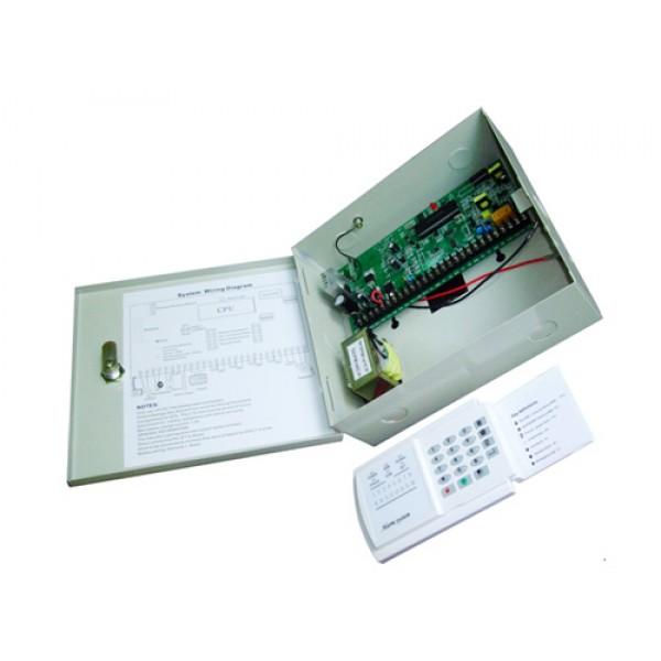 Kit Antifurto Sistemi Allarme Centralina Wireless Senza Fili/Cablate Combinatore GSM