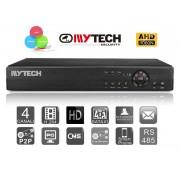 """Hybrid DVR 4 Canali Tribrido """"AHD+IP+ANALOGICO"""" 1080N"""